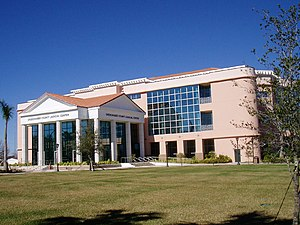 The Okeechobee County Judicial Center, in Okeechobee