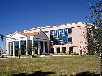 Okeechobee County, Florida - Image: Okeechobee County Judicial Center