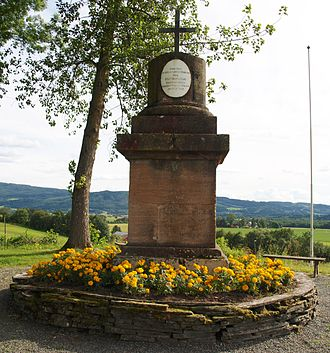 Battle of Stiklestad - Olavsstøtta at Olavhaugen