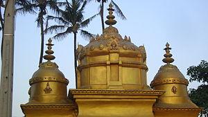 Clairwood Shree Siva Soobramoniar Temple - Gopuram before refurbishment