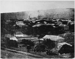 Old Iolani Palace and adjacent premises, ca. 1850s (PP-38-1-009).jpg