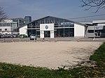 Old airport Ljubljana Polje, former hangar.JPG