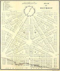 Historio de detrojto wikipedia 39 s history of detroit as for Domon plan b