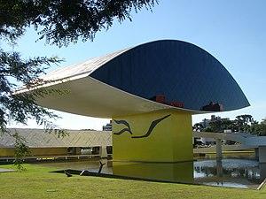 5cc504b06f8ae0 Oscar Niemeyer Museum (NovoMuseu)