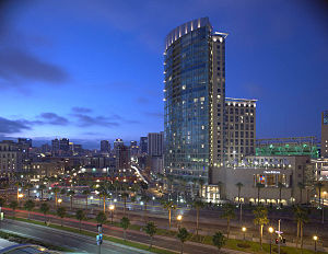Omni Hotels & Resorts - The four-star, 32-story Omni San Diego Hotel in San Diego, CA