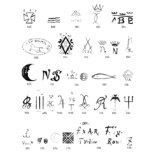 keramik mærker Opfindelsernes Bog/Lervarerne og deres Tilvirkning.   Wikisource keramik mærker