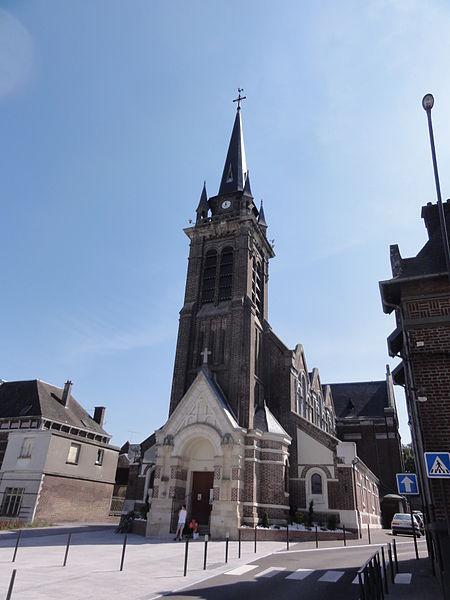 Origny-Sainte-Benoite (Aisne) église