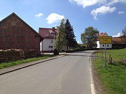 Elbenberger Straße in Bad Emstal