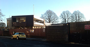Northumberland County Cricket Club - The view from the street outside of one of the club's venues, Osborne Avenue, Jesmond.