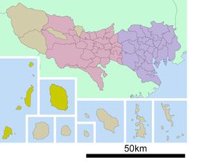 Ōshima Subprefecture (Tokyo) Subprefecture of Tokyo Metropolis, Japan