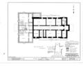 Otoe County Courthouse, Tenth Street and Central Avenue, Nebraska City, Otoe County, NE HABS NEB,66-NEBCI,1- (sheet 1 of 9).png