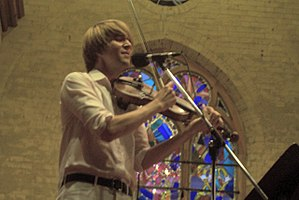 The Music Gallery - Owen Pallett, a.k.a. Final Fantasy, performing at The Music Gallery.
