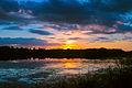Päikeseloojang Porkuni järvel.jpg