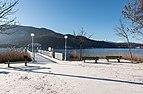 Pörtschach am Wörther See Halbinselpromenade Landspitz Schiffsanlegestelle 21012018 2328.jpg