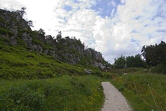 Pfahl (Bavarian Forest) - The Pfahl near Viechtach