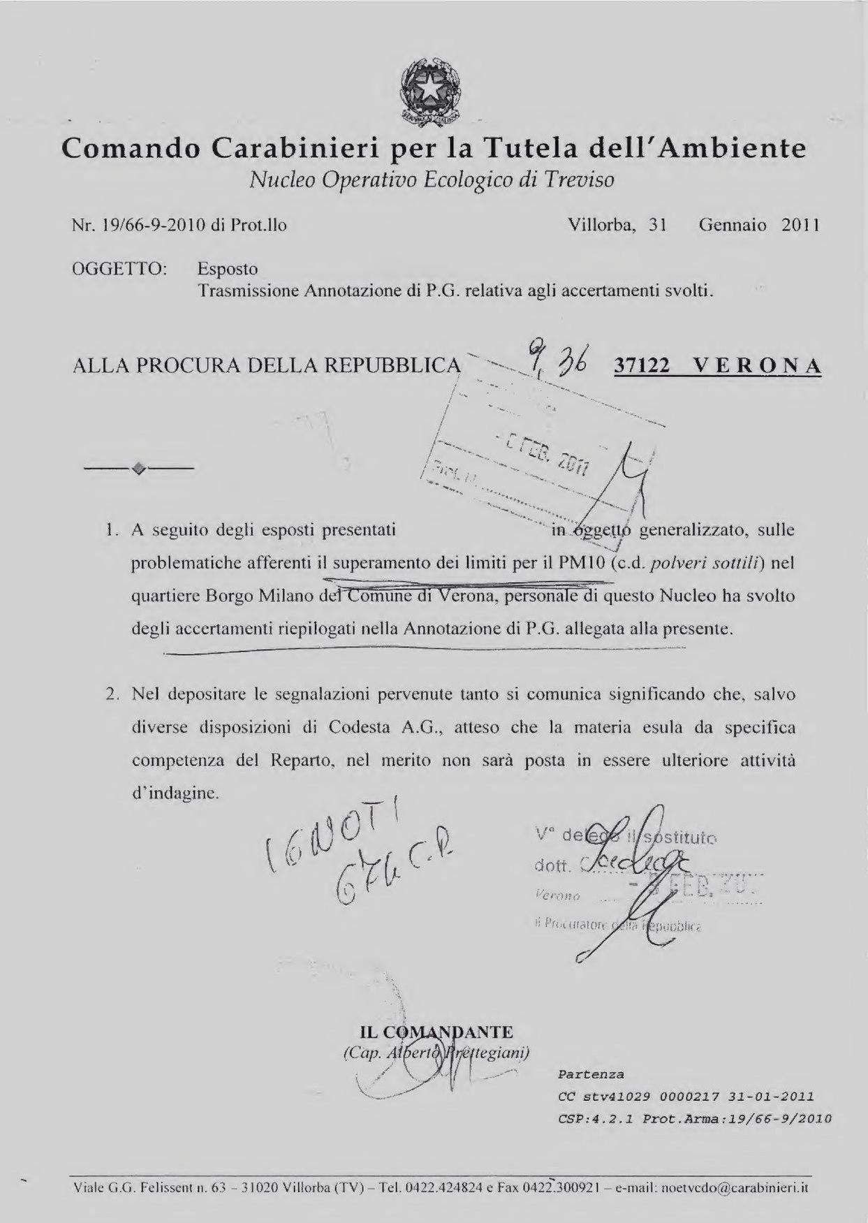 PM10 Tribunale Verona 795-11 ignoti PM SACHAR archiviato 4-5-2011.pdf
