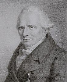 Caspar Siegfried Gähler, Lithographie von Carl Friedrich Kroymann (1825) (Quelle: Wikimedia)
