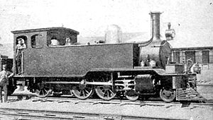 1887 in South Africa - Lourenco Marques, Delagoa Bay and East Africa Railway 4-6-0T