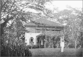 PSM V71 D491 Dr hanitsch at his bungalow in singapore.png