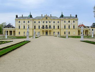 Podlachia - Branicki Palace in Białystok - the largest city of proper Podlachia