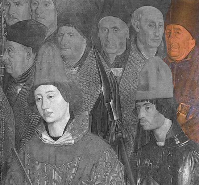 Ficheiro:Painéis de São Vicente, Painel do Arcebispo, Fernão Lopes.jpg