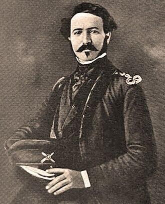 John B. Magruder - Magruder in an 1848 painting