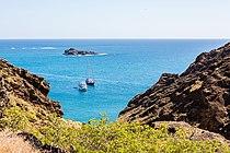 Paisaje en Punta Pitt, isla de San Cristóbal, islas Galápagos, Ecuador, 2015-07-24, DD 76.JPG