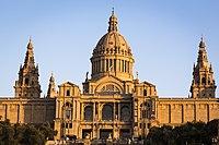 Palacio Montjuic Atardecer.jpg