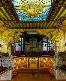 Modernisme catalan wikip dia - Art nouveau architecture de barcelone revisitee ...
