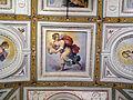Palazzo di sforza almeni, sala con affreschi, figura allegorica 02.JPG