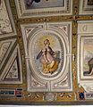 Palazzo di sforza almeni, sala con affreschi, figura allegorica 07.JPG