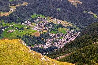 Valtournenche Comune in Aosta Valley, Italy