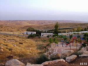 Ma'on, Har Hebron - View towards Har Hevron