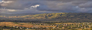 Evergreen, San Jose - Panorama of Evergreen.