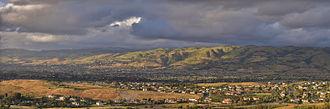 Evergreen, San Jose - Panorama of Evergreen.