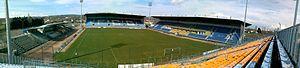 Stade Jean Laville - Image: Panoramique stade Jean Laville
