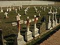 Paracuellos Lapidas en Fosa II Ruiz Casaux.JPG