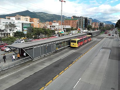 How to get to Calle 127 C with public transit - About the place