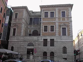 Museo Barracco di Scultura Antica - Image: Parione Palazzetto Le Roy o Piccola Farnesina 2130