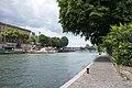 Paris 75001 Quai méridional attenant au Square du Vert-Galant 20150725.jpg