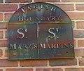 Parish Boundary Marker, Well Lane, Beverley - geograph.org.uk - 809452.jpg