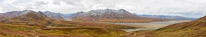 Parque nacional y reserva Denali, Alaska, Estados Unidos, 2017-08-30, DD 55-61 PAN.jpg