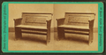Part of a pew in Christ Church used by Washington, Franklin, La Fayette (Lafayette) & Bishop White, by Cremer, James, 1821-1893.png