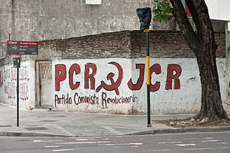 Revolutionary Communist Party of Argentina - PCR mural