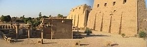 Precinct of Amun-Re - First pylon of Karnak