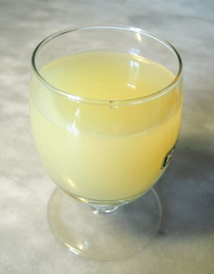 Pastis - A glass of diluted pastis