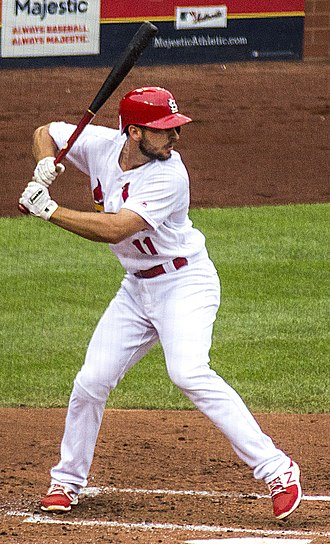 Paul DeJong - DeJong batting in 2017