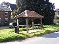Peasenhall Bus Shelter - geograph.org.uk - 967435.jpg