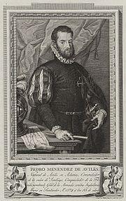 Pedro Menéndez de Avilés, primer gobernador español de Florida, fue el IV Comendador de Santa Cruz de la Zarza (Toledo)