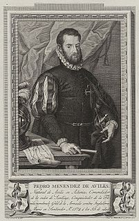 Pedro Menéndez de Avilés Spanish explorer
